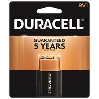 Duracell MN1604B1Z Alkaline Battery, 9 V, Manganese Dioxide, 9 V