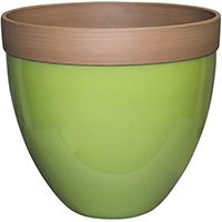 Southern Patio Hampton HDR-012412 Devyn Planter, 13.4 in H, Resin, Spring