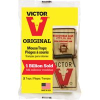 Victor M150 Reusable Mouse Trap, Wood