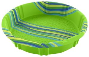 H2O Pool, 3.9 in W, Polyethylene, Round