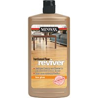 Minwax 60960 Hardwood Floor Reviver Paint, Clear, Low-Gloss, 1 qt Can