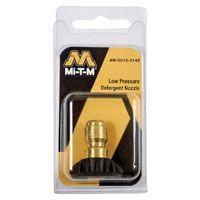 Mi-T-M AW-0018-0148 Detergent Nozzle, 40 deg Orifice, 65 deg