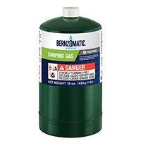 BernzOmatic 327774 Camping Gas Cylinder, 16.4 oz