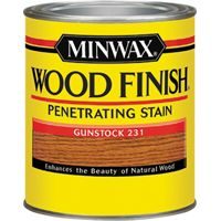 Minwax Wood Finish 22310 Wood Stain, Gunstock, 0.5 pt Can