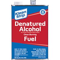 Klean Strip GSL26 Denatured Alcohol Fuel, 1 gal Can
