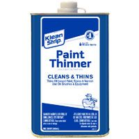 Klean Strip QKPT94003 Paint Thinner, 1 qt Can