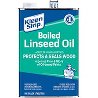 Klean Strip GLO45 Boiled Linseed Oil, 1 gal Can