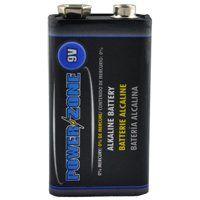 PowerZone Alkaline Battery, 9 V