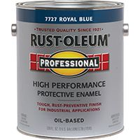 RUST-OLEUM PROFESSIONAL 7727402 High Performance Protective Enamel, Royal Blue, Gloss, 1 gal Can