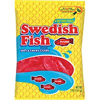 Swedish Fish RSF12 Candy, 5 oz Bag