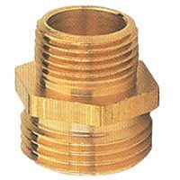 Gilmour 7MH5MP Hose Connector, 3/4 in MNH x 1/2 in MNPT, Brass