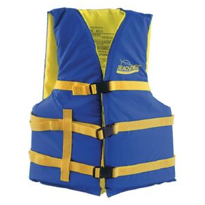 Blue/Yellow 4 Belt Vest- LG/XL