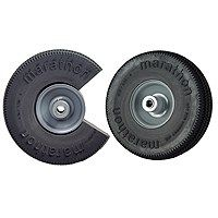 ARNOLD 00010 Hand Truck Wheel, 10-1/2 in Dia Tire, Sawtooth Tread