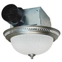 Air King DRLC702 Exhaust Fan, 70 cfm, Fluorescent Lamp, 1.6 A