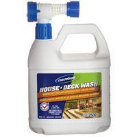 Concrobium 126-056 House and Deck Wash, 68 oz Bottle