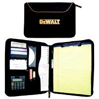 CLC DG5140 Business Portfolio, 8-1/2 x 11 in Sheet, Zipper Closure, Ballistic Polyester, Black