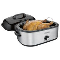 Hamilton Beach 32191 Electric Roaster Oven, 120 V, 1440 W, 18 qt Capacity, Stainless Steel