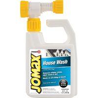 ZINSSER JOMAX 60180 House Wash Cleaner, 32 oz Bottle