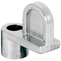 Make-2-Fit PL 7735 Window Screen Clip with Screw, Alloy, Silver