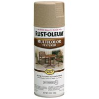 RUST-OLEUM STOPS RUST 223524 Textured Spray Desert Bisque, 12 oz Aerosol Can