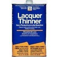 Klean Strip QML170 Lacquer Thinner, 1 qt Can