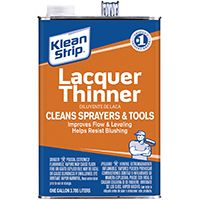 Klean Strip GML170 Lacquer Thinner, 1 gal Can