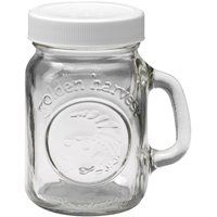 Jarden 40501 Salt/Pepper Shaker, 4 oz Capacity, Glass, White