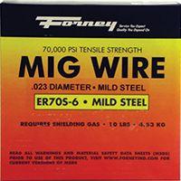 Forney 42287 MIG Welding Wire, 0.035 in Dia, Mild Steel