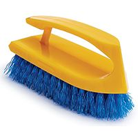 Rubbermaid FG648200COBLT Scrubber Brush, Iron Style Plastic Handle