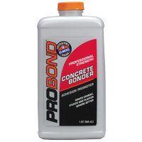 Elmers ProBond E862 Concrete Bonder, Liquid, 1 qt Bottle