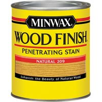 Minwax Wood Finish 70000444 Wood Stain, Natural, 1 qt Can