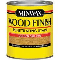Minwax Wood Finish 70001444 Wood Stain, Golden Oak, 1 qt Can