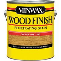 Minwax Wood Finish 71001000 Wood Stain, Golden Oak, 1 gal Can