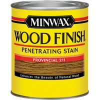 Minwax Wood Finish 70002444 Wood Stain, Provincial, 1 qt Can