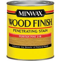 Minwax Wood Finish 70003444 Wood Stain, Puritan Pine, 1 qt Can
