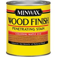 Minwax Wood Finish 70005444 Wood Stain, Colonial Maple, 1 qt Can