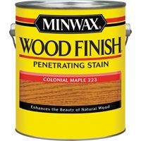 Minwax Wood Finish 71005000 Wood Stain, Colonial Maple, 1 gal Can