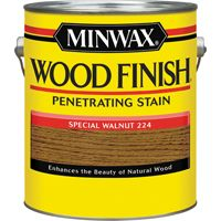Minwax Wood Finish 71006000 Wood Stain, Special Walnut, 1 gal Can