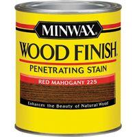 Minwax Wood Finish 70007444 Wood Stain, Red Mahogany, 1 qt Can