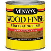 Minwax Wood Finish 70008444 Wood Stain, Early American, 1 qt Can