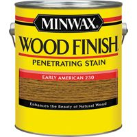Minwax Wood Finish 71008000 Wood Stain, Early American, 1 gal Can
