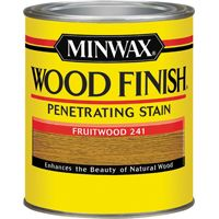 Minwax Wood Finish 70010444 Wood Stain, Fruitwood, 1 qt Can