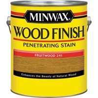 Minwax Wood Finish 71010000 Wood Stain, Fruitwood, 1 gal Can