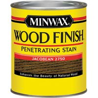 Minwax Wood Finish 70014444 Wood Stain, Jacobean, 1 qt Can