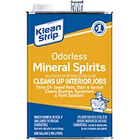 Klean Strip GKSP94006 Odorless Mineral Spirit Thinner, 1 gal Can