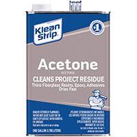 Klean Strip GAC18 Acetone Thinner, 1 gal Can
