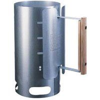 Lodge A5-1 Charcoal Chimney Starter, Galvanized Steel