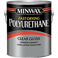 Minwax 71030000 Polyurethane Paint, Clear, 1 gal Can