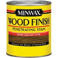 Minwax Wood Finish 70012444 Wood Stain, Dark Walnut, 1 qt Can