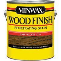 Minwax Wood Finish 71012000 Wood Stain, Dark Walnut, 1 gal Can